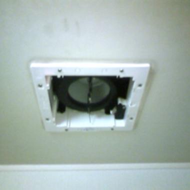 | 浴室換気扇交換 後