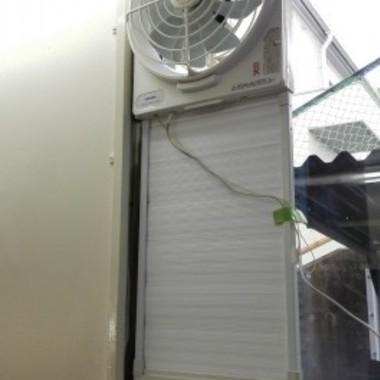 | プロペラタイプの換気扇掃除後