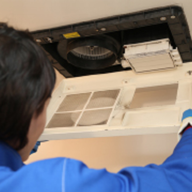 松原北 浴室乾燥機 クリーニングの施工後写真(0枚目)