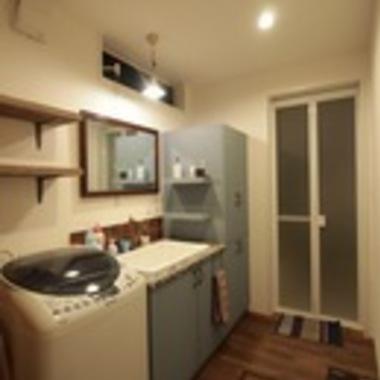 新築注文住宅アンティークハウス 洗面所