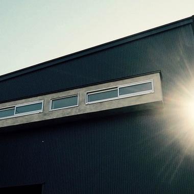 新築注文住宅ガルバリウム 窓