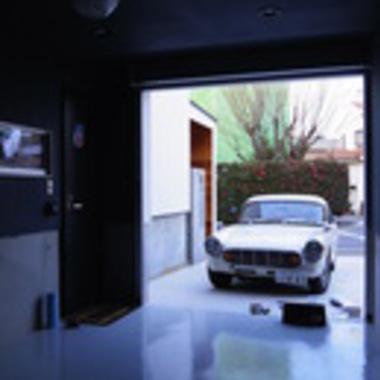 新築注文住宅ガレージハウス 駐車スペース