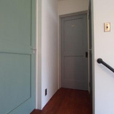 新築注文住宅アメリカンハウス 2階廊下