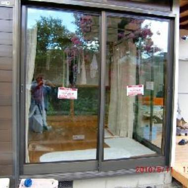 ペアマルチ 複層 ガラス取付