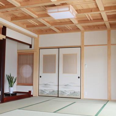 新築物件の設計・施工 和風テイストの家 和室・床の間