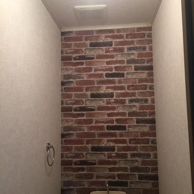   トイレ クロス張替 完了
