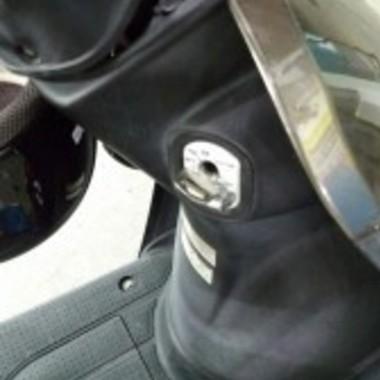 | バイク メットイン開錠