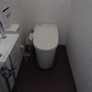 トイレ・コンパクトな空間にリフォーム