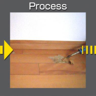 | 幅木・フローリングのキズ修繕
