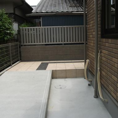 戸建住宅 外構工事 完了 庭