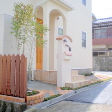 | 住宅前面部 外装施工後