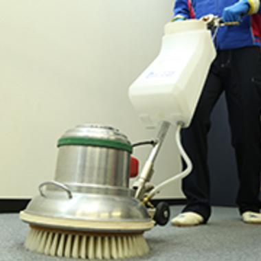 カーペット 専用機材洗浄