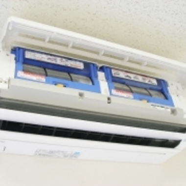 | お掃除機能付きエアコン フィルター