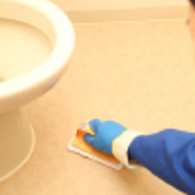 | トイレ 床清掃