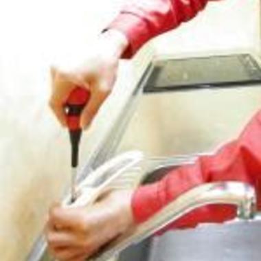 シングルレバー交換・水漏れ修理中