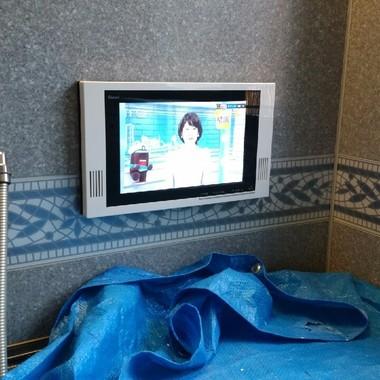 | 浴室テレビの交換後