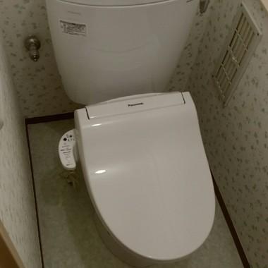 トイレ交換・壁紙張替後