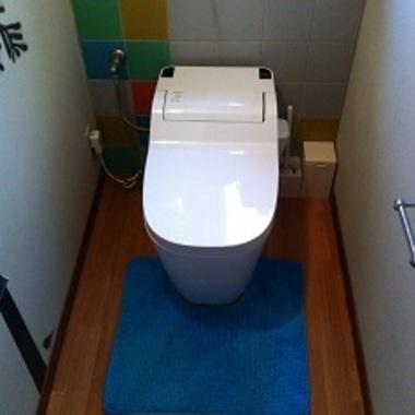 トイレの交換後