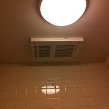 浴室換気乾燥暖房機の交換後