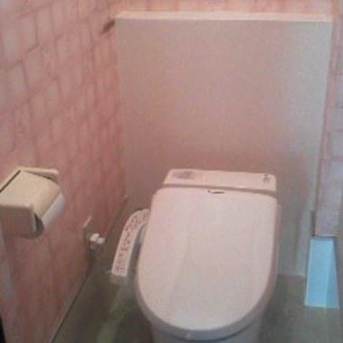 トイレ交換後 便器