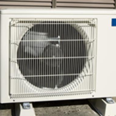 | エアコン室外機クリーニング掃除後