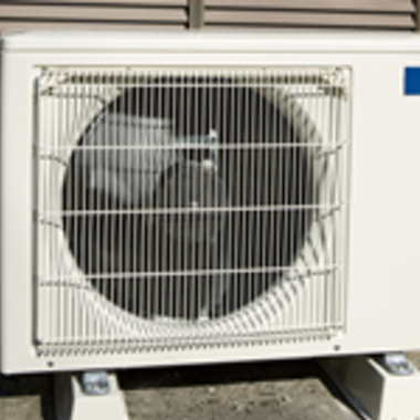 | エアコン室外機クリーニング エコ洗浄後