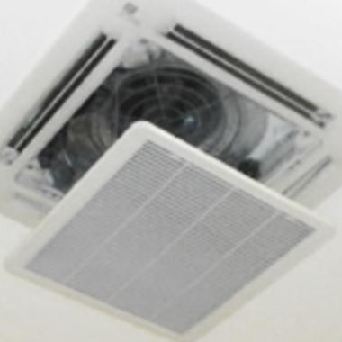 エアコン天井埋込タイプ 一般家庭小型掃除後