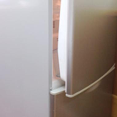 冷蔵庫クリーニング後