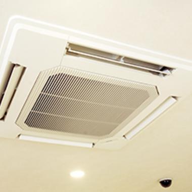 エアコン天井埋込タイプ クリーニング後