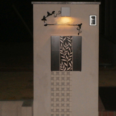 | 施工後 門柱