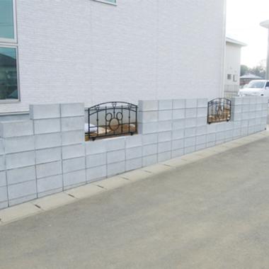 施工後 ブロック塀