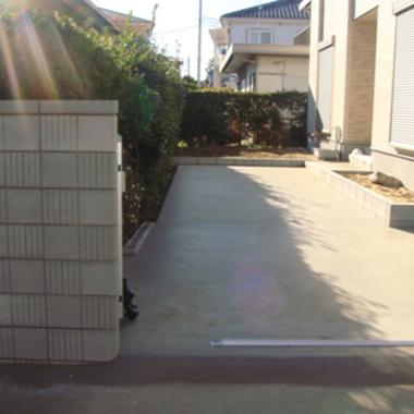 施工後 玄関前スペース1