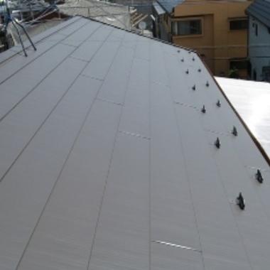 屋根張替え後 金属屋根