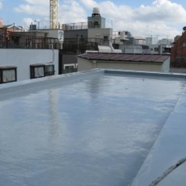 防水工事後 屋上