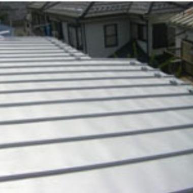 屋根葺き替え後 瓦棒