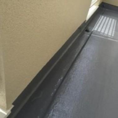 塗装後 ベランダ床