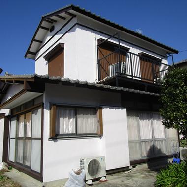 | 軒天修理 木部補修 外壁塗装後 住宅外観