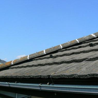 屋根工事完了 アップ画像