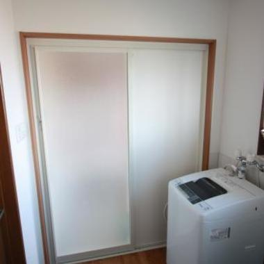 浴室リフォーム完了 出入口