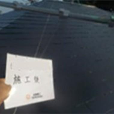横浜市鶴見区 外壁塗装・屋根塗装 パーフェクトトップ・サーモアイSiの施工後写真(1枚目)