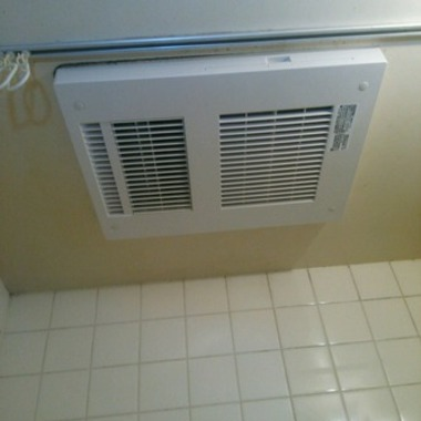 浴室暖房乾燥機の取り替え後