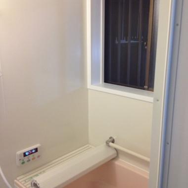 バスルームリフォーム後 壁面