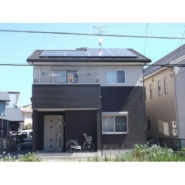焼津市✕太陽光発電設置✕オール電化の家にする工事の施工後写真(0枚目)