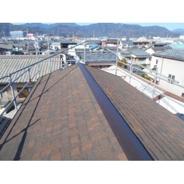 浜松市✕屋根工事✕外観も強度もグレードアップする工事の施工後写真(0枚目)