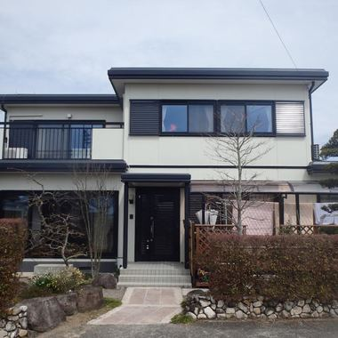 佐賀市 外部塗装 無機ハイブリッド塗料の施工後写真(0枚目)