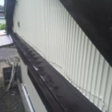 屋根塗装後 全体画像