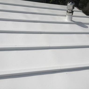 屋根塗装後 アップ画像