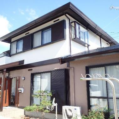 佐賀市 外部塗装 シリコン樹脂の施工後写真(0枚目)