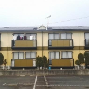 アパートの外壁・屋根の塗装後