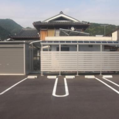 YKKテラス屋根・ヨド物置工事完了